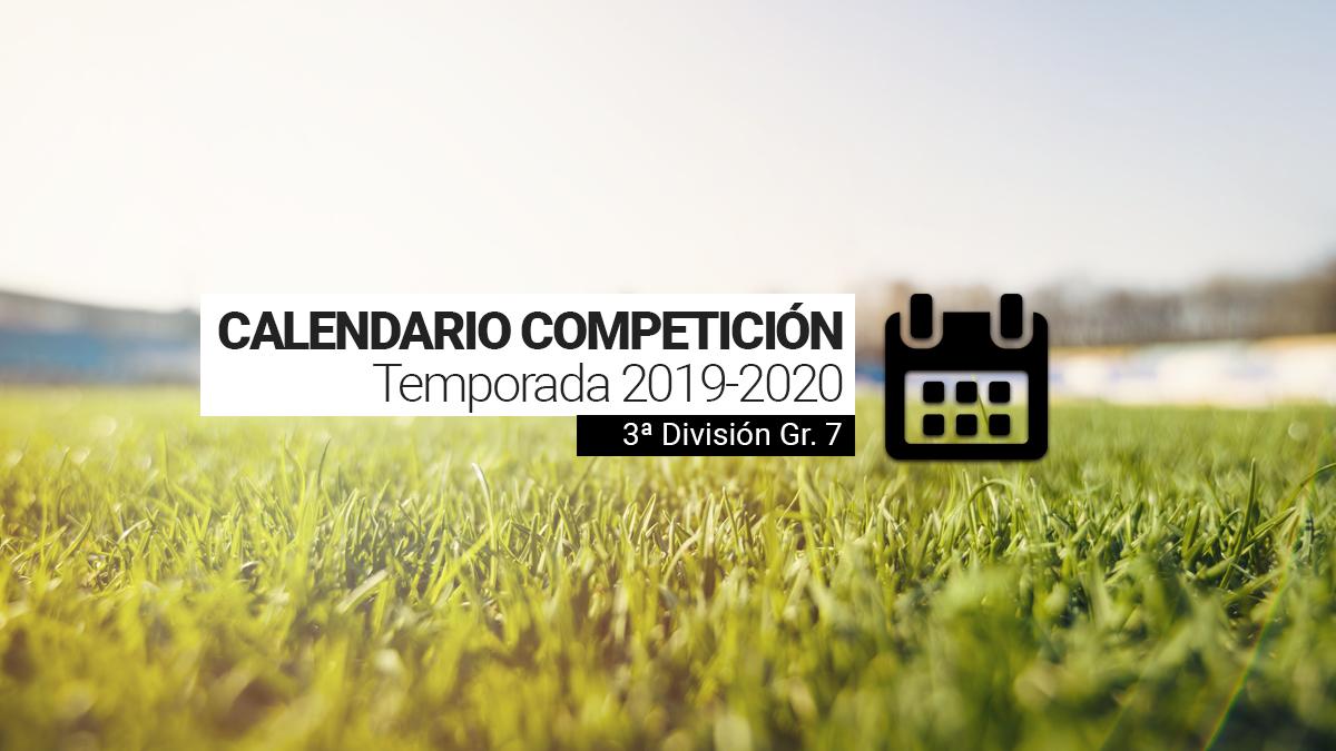 Calendario Tercera Division.Calendario La Rffm Hace Publico El Calendario Del Grupo 7 De